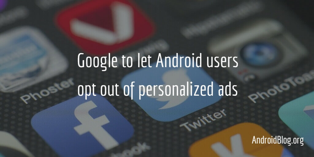 Android Personalized Ads